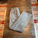post o'alls wool trouser pants