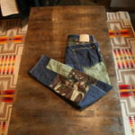 sophnet selvage camo patch denim(m)