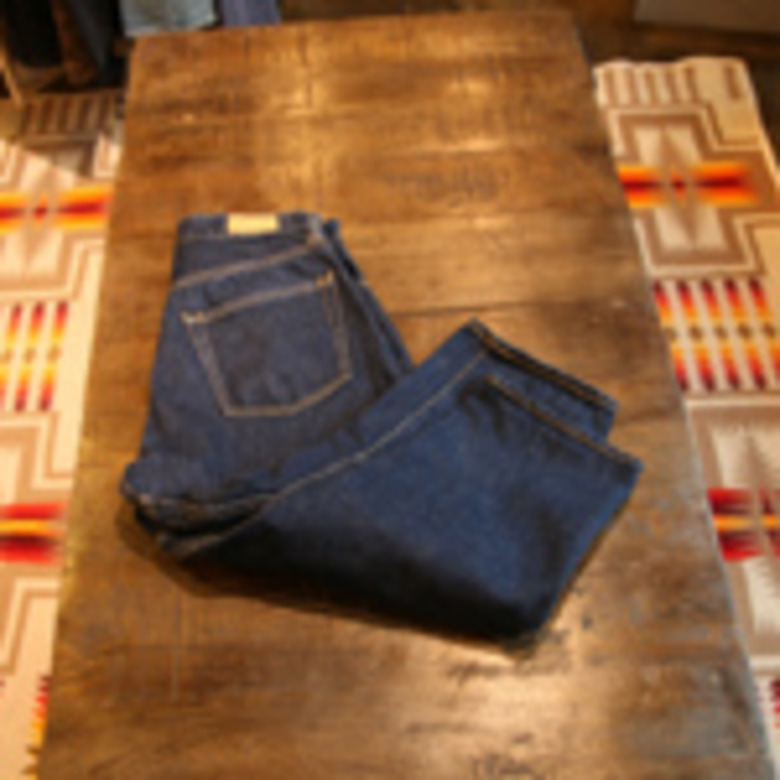 sanca denim cropped 5p pants