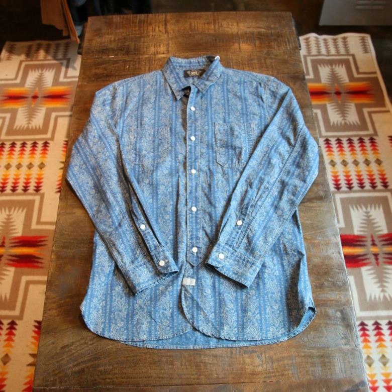 RRL pasely work shirts