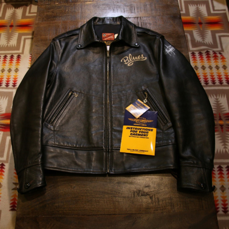 toys mccoy mobster jacket horse hide