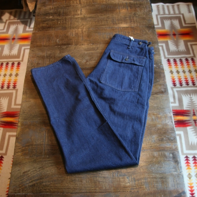 pherrows denim fatigue pants