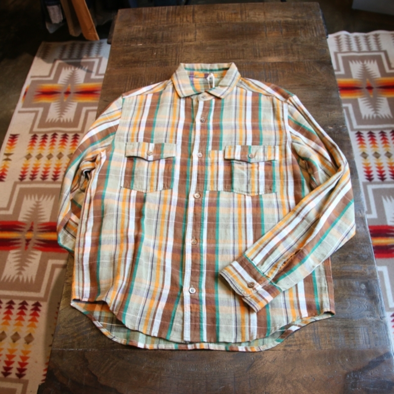 nigel cabourn reversible check shirt