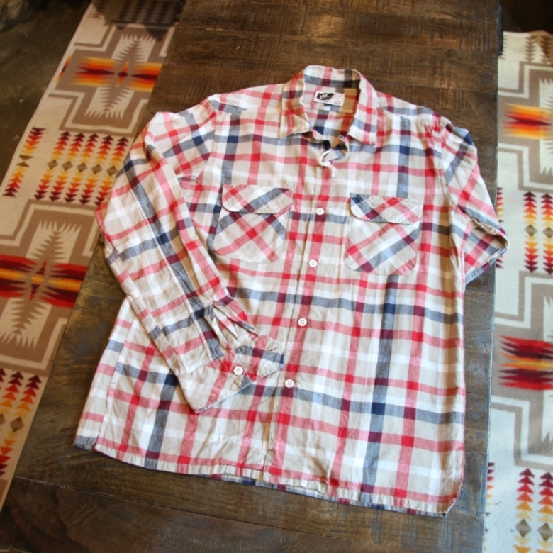 engineered garments check shirts