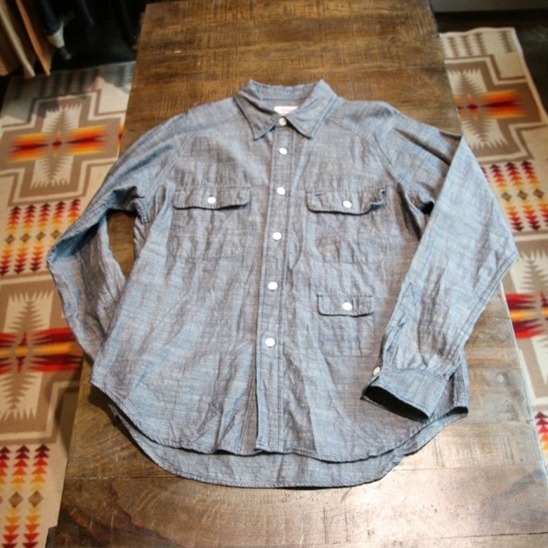 battenwear camp shirt (chambray)