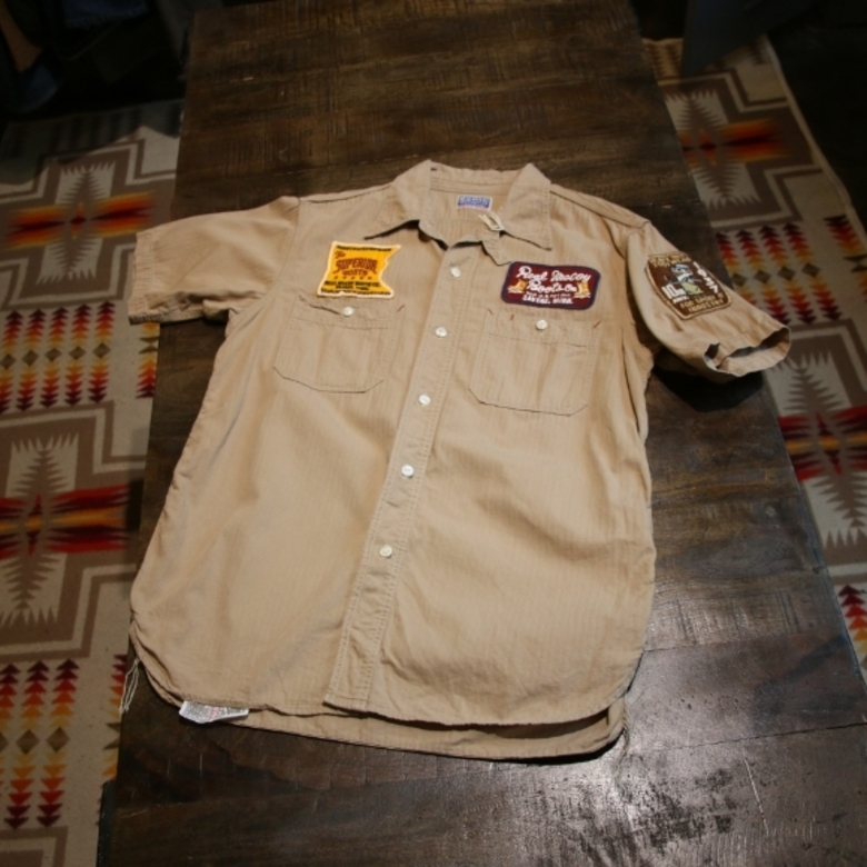 the realmccoys patch shirt