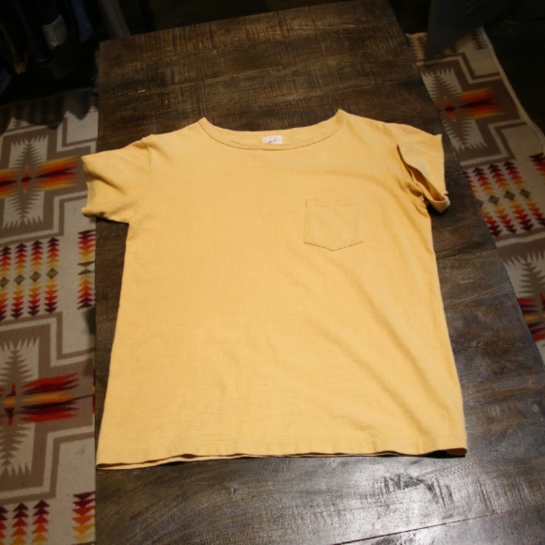 butcher product boat neck tee