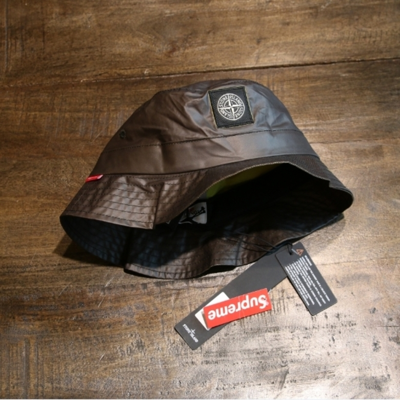 supreme x stone island heat reactive hat