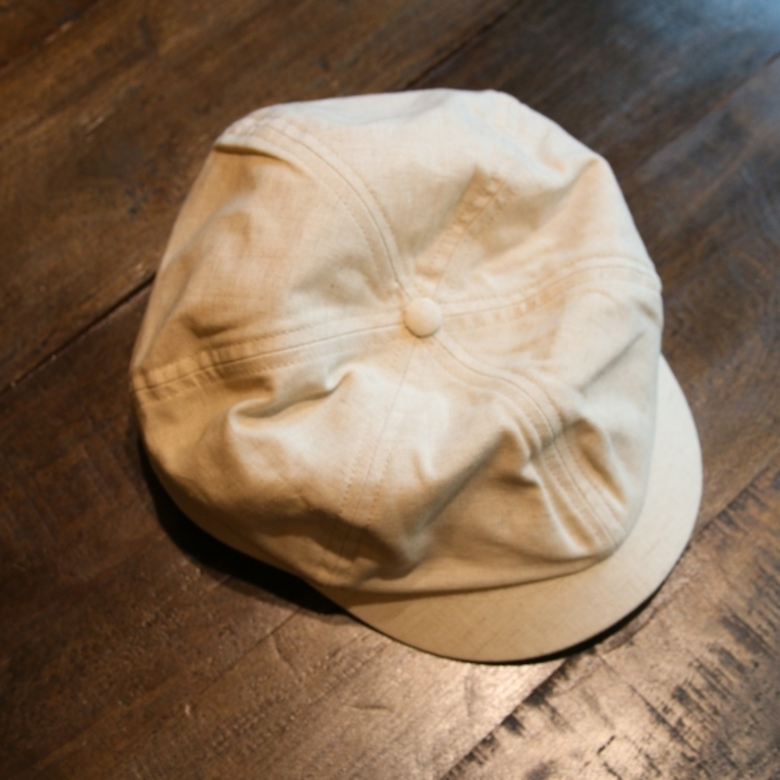the h.w dog co linen casquette