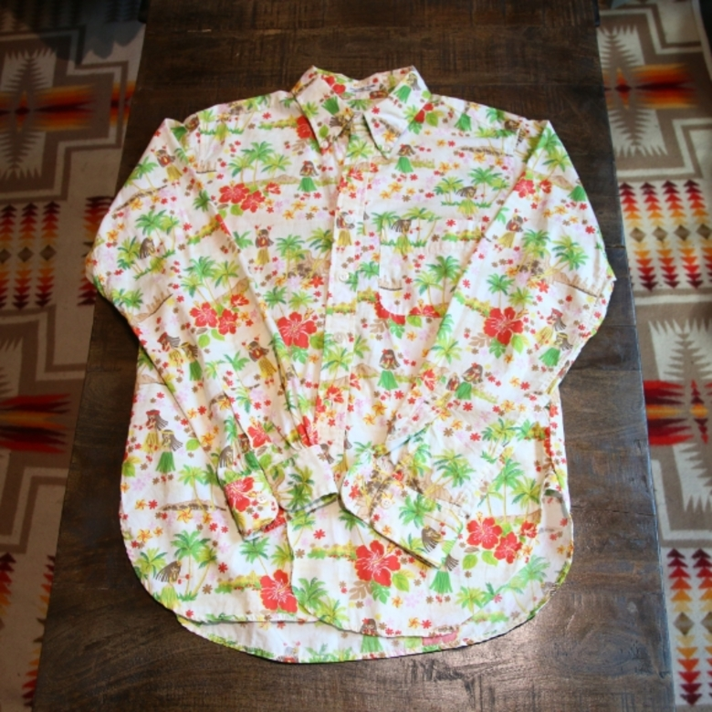 engineered garments hawaii shirts