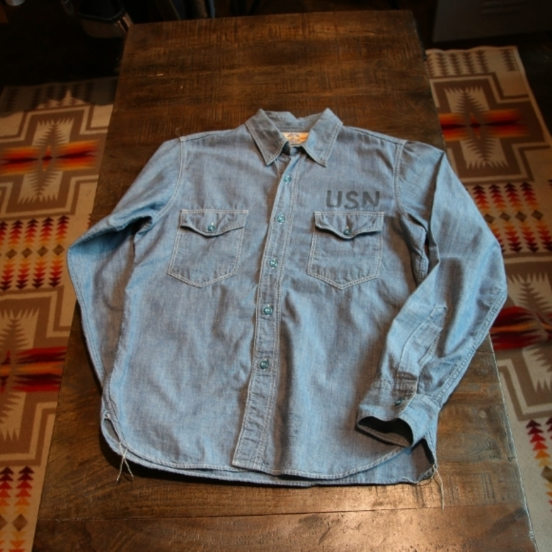 the realmccoys USN chambray shirt