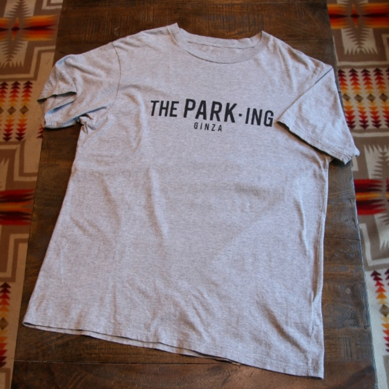 the parking ginza logo tee