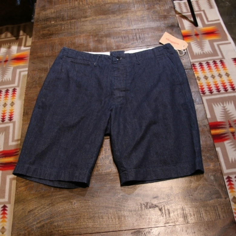 radiall denim chino shorts