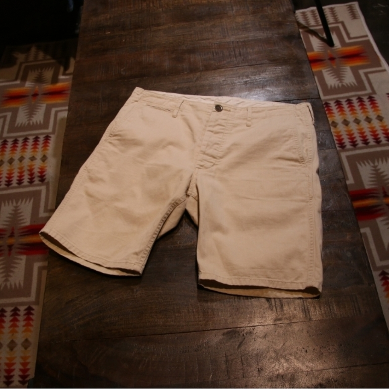 visvim cinch back chino shorts