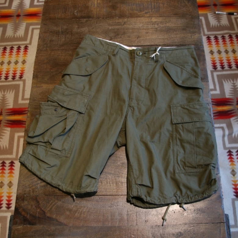 beams plus millitary shorts
