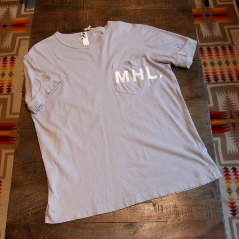 MHL V-neck pocket t-shirt
