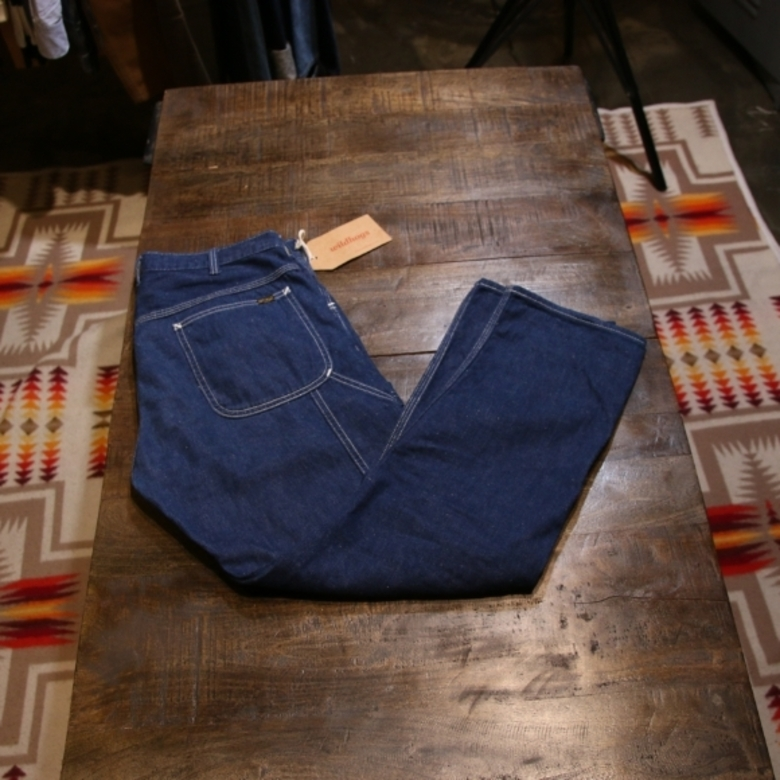 orslow carpenter denim pants