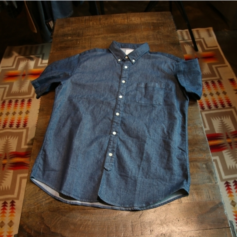 mister gentleman denim shirt