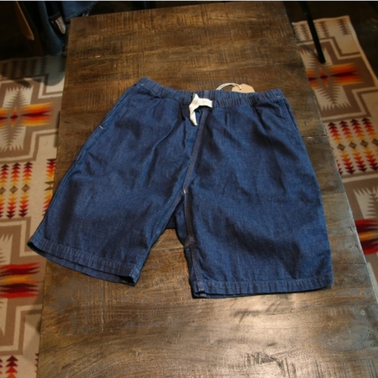 orslow denim shorts