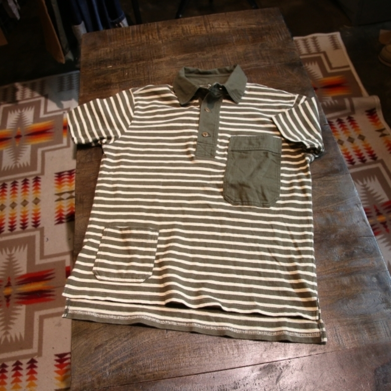 nigel cabourn border collar tee