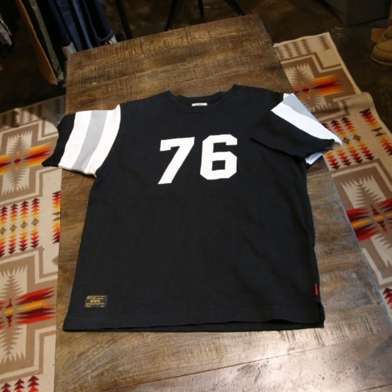 WTAPS x Rags McGREGOR numbering football T shirt