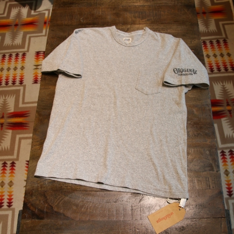 tenderloin original pocket tee