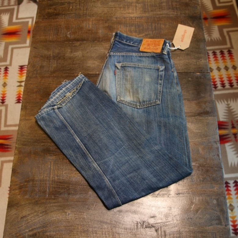 joe mccoy 906 selvage denim