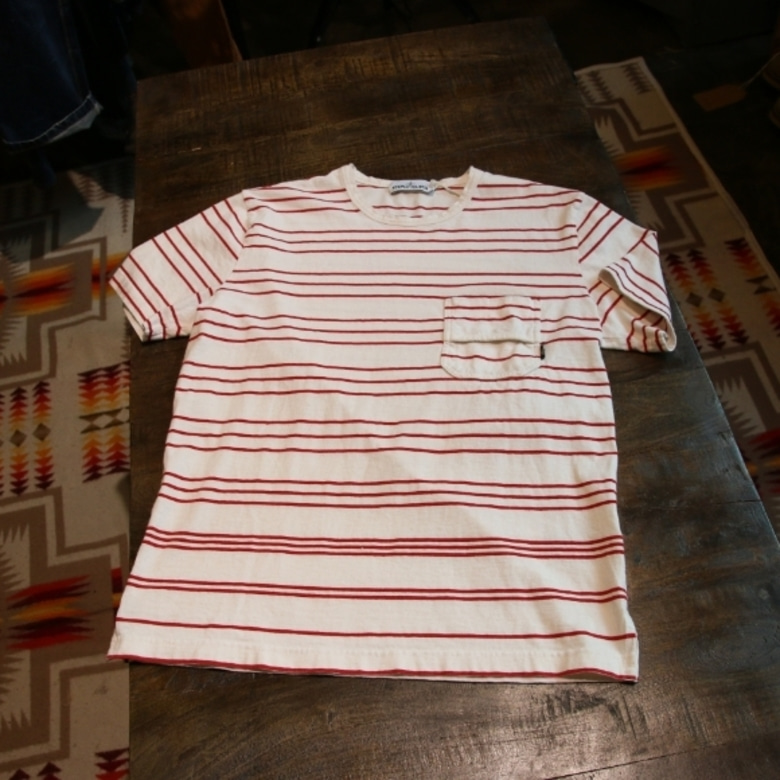 stone island pocket border tee