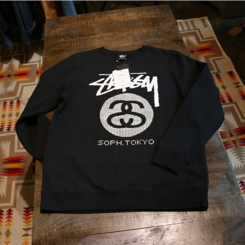 stussy x sophnet sweat shirt