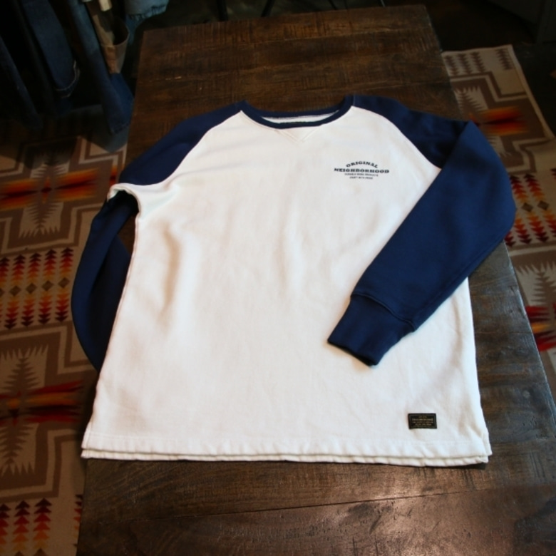 Neighborhood PE Raglan Crew Neck Sweat