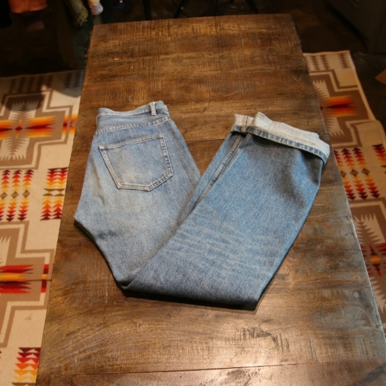 A.P.C. selvage denim pants