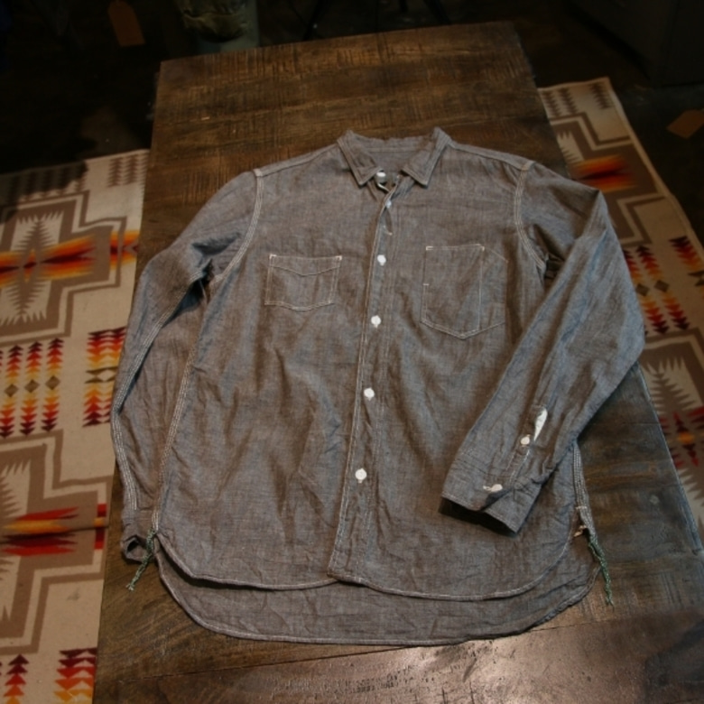 sunny sports chambray shirt