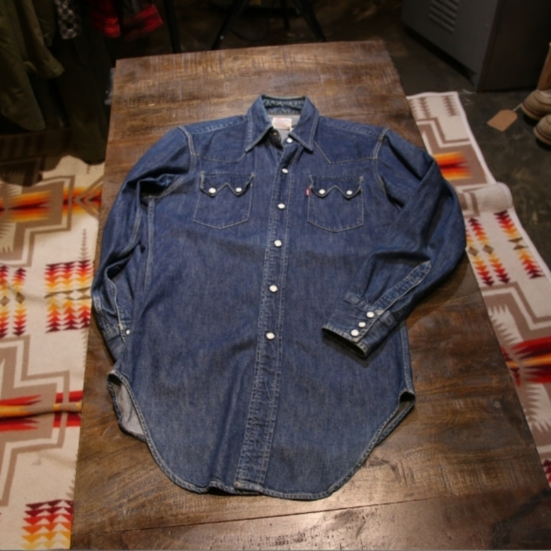 levis 50's lvc denim shirts
