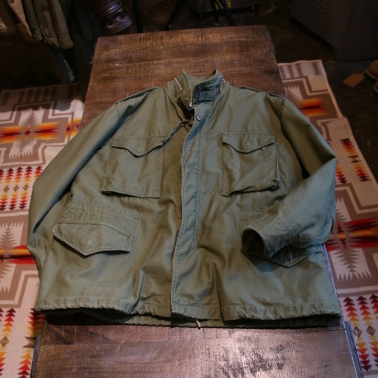 m-65 2nd field jacket (large-short)