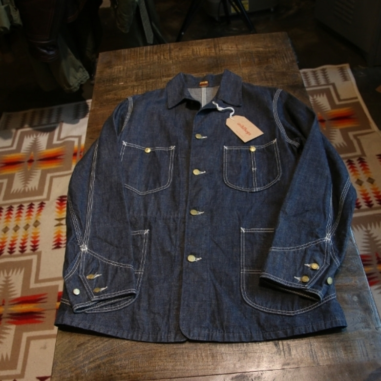 denime coverall jacket