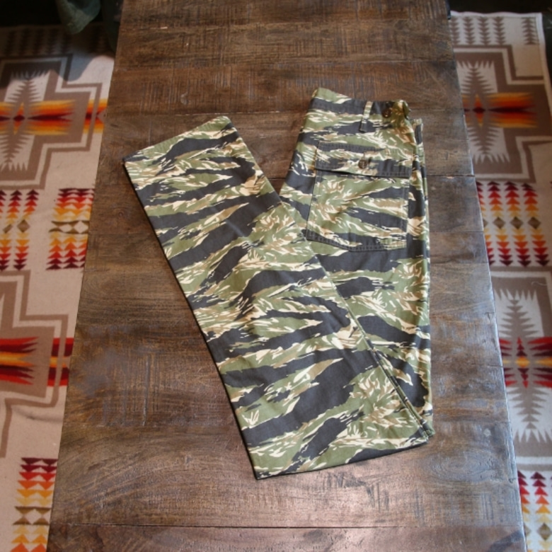 pherrows tiger camo millitary pants
