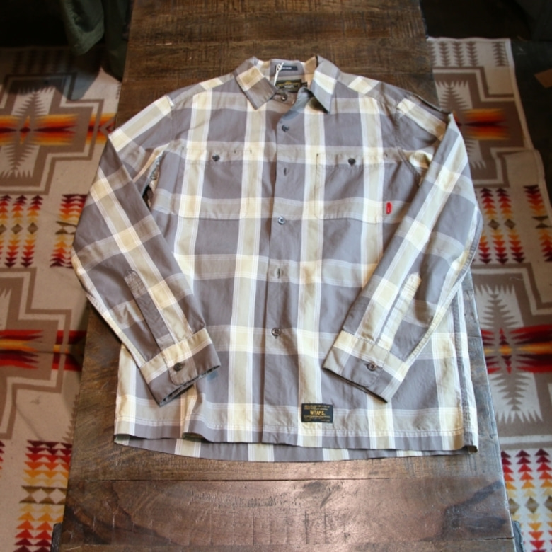 wtaps check shirts