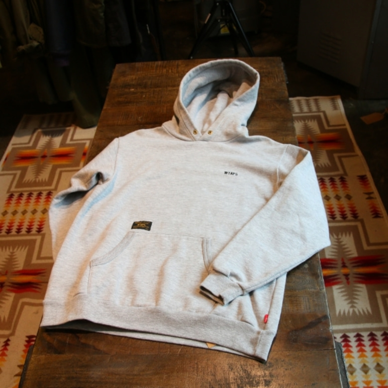 wtaps hellweek hooded sweatshirt (M)
