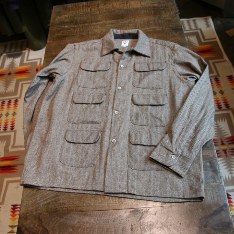 s2w8 6pocket wool shirt