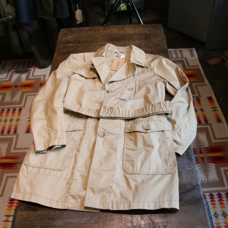 Engineered Garments Single Front Trench Coat