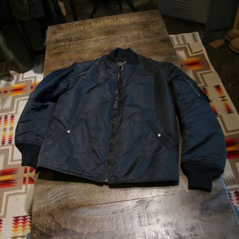 the cockpit black ma-1 jacket