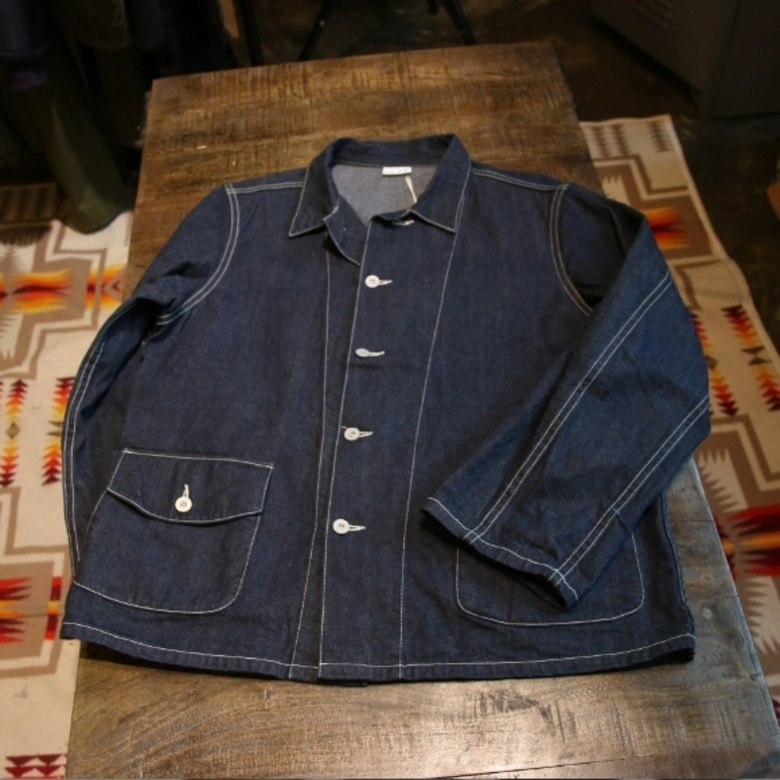 the realmccoys denim work jacket