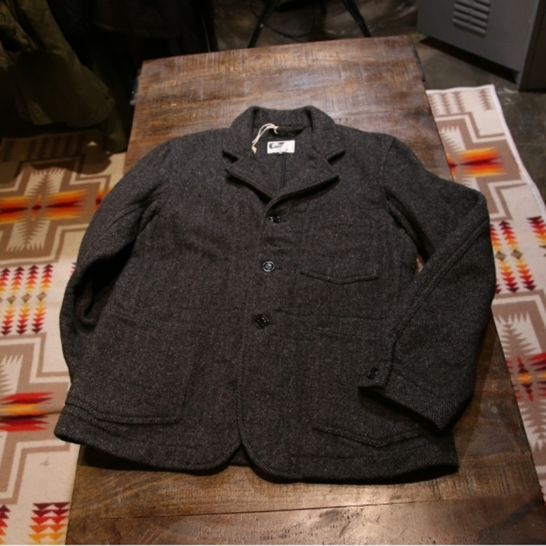engineered garments wool HBT jakcet