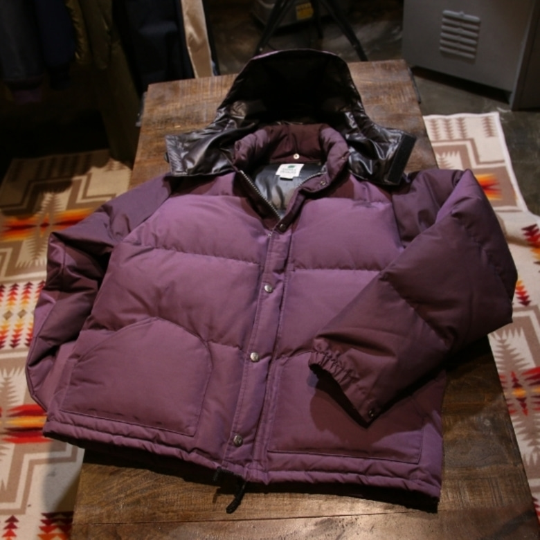 sierra designs 60/40 purple down parka
