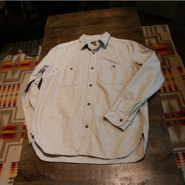 nigel cabourn moleskin work shirt