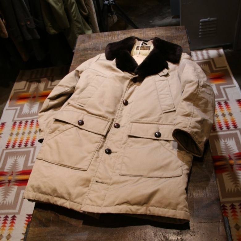 70s eddie bauer down mackinaw coat