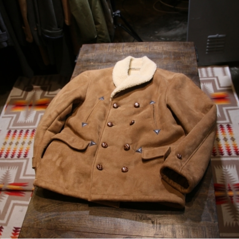pherrows Fake Mouton Ranch coat