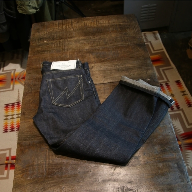 neighborhood rigid narrow selvage denim pants