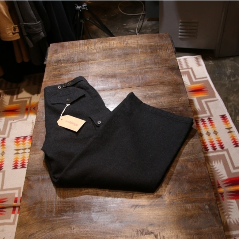 Margaret Howell wool cargo pants
