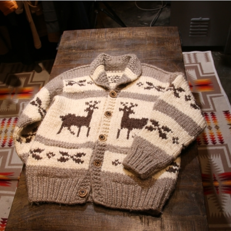 canada cowichan heavy sweater cardigan